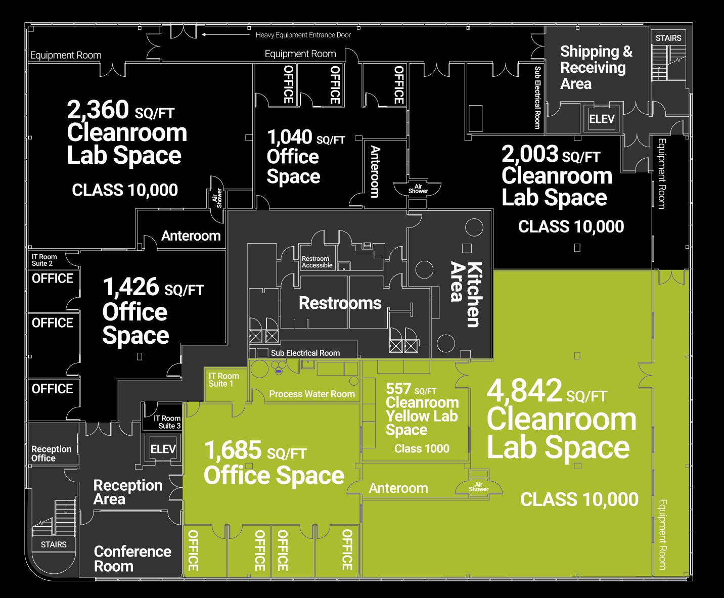 incubator floorplan