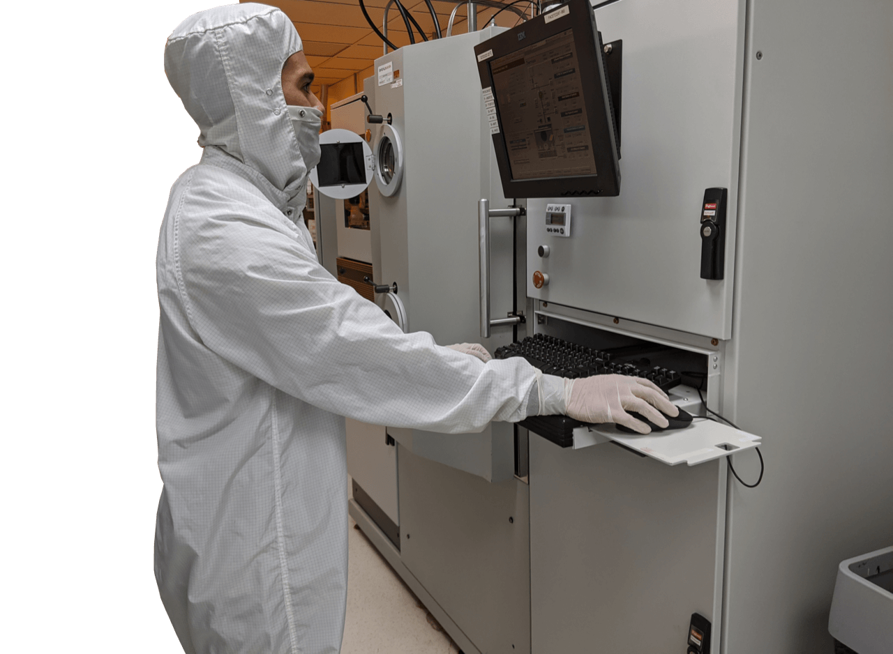 Cleanroom worker computer