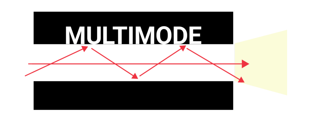 Black and white multimode illustration