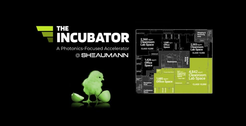 The Incubator chick and floor plan